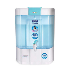 KENT Pearl 8-Litres Mineral RO + UV+UF + TDS Water Purifier, Blue and White