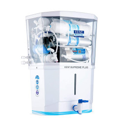 Kent Supreme Plus 2021(1112) ZWW, RO+UV+UF+TDS Controller + UV In-Tank 8L, white, 20 LPH Water Purifier