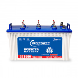 Mtek Power EB 1900 (160 Ah ), Warranty : 36 Months ( 18 Months full replacement + 18 Months pro-rata )