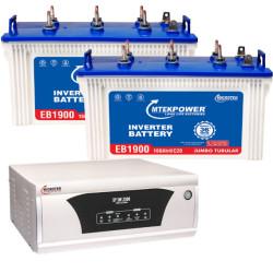 Microtek home Ups XP 2300VA + EB1700 (140 Ah) battery
