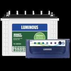 Luminous Eco Volt 1050 & SC18054 TT (150 Ah)