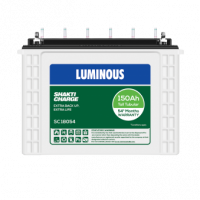 Luminous Shakti Charge 18054 (150Ah), Warranty : 54 Months (36 Month full replacement + 18 Months pro-rata )